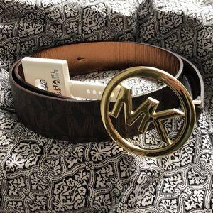 NWT Michael Kors Monogram Belt